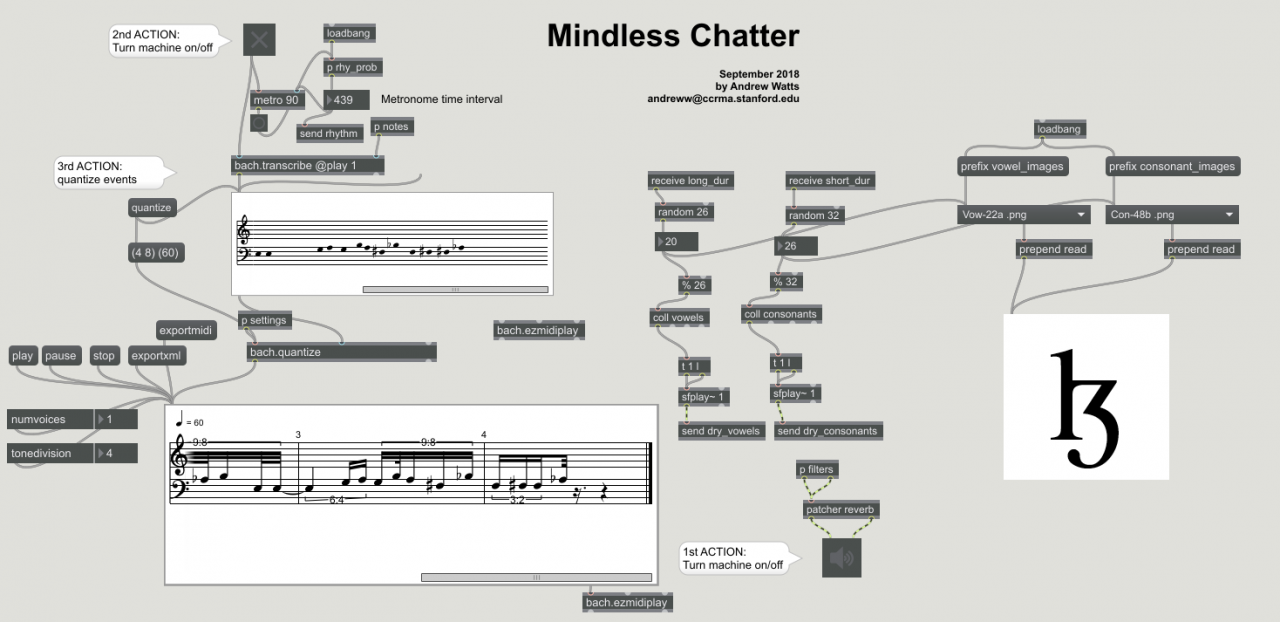 Algorithmic Composition with Max/MSP and Open Music | CCRMA