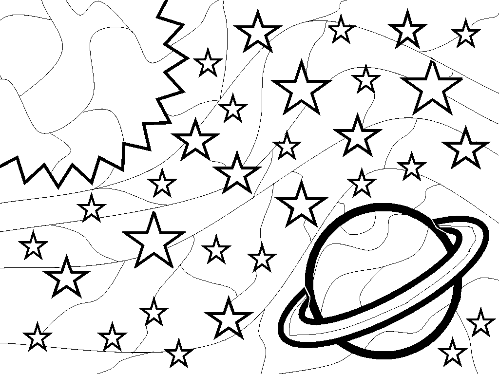 outer space kids coloring pages - photo#4
