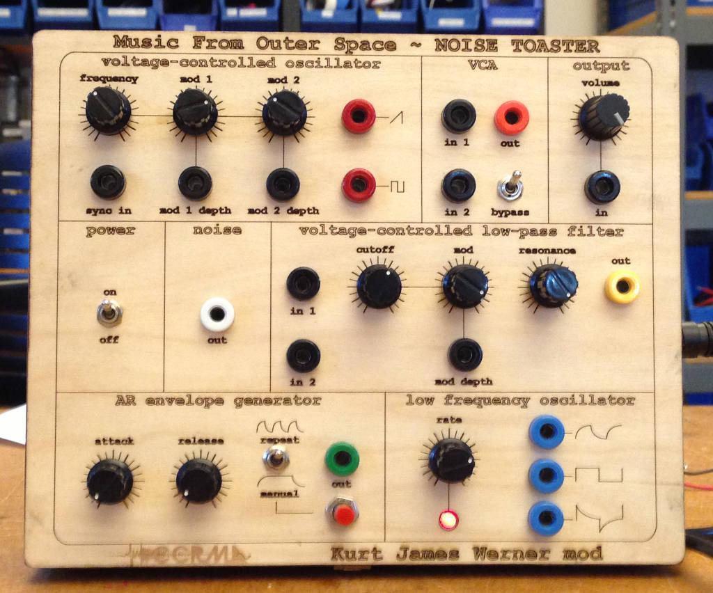 Kurt James Werner @ CCRMA - MFOS Noise Toaster mod
