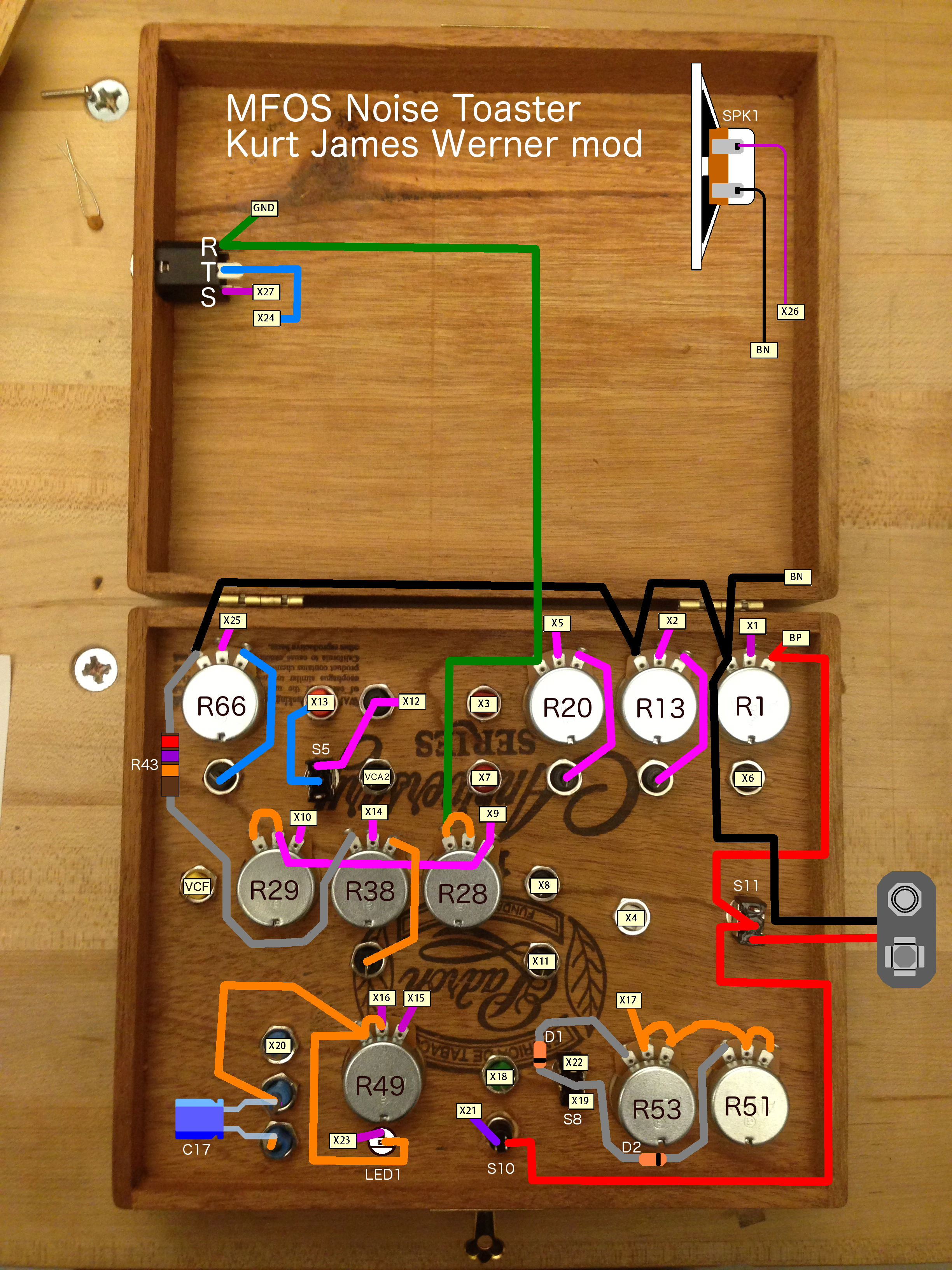 Kurt James Werner Ccrma Mfos Noise Toaster Mod Wiring Schematic Front Panel