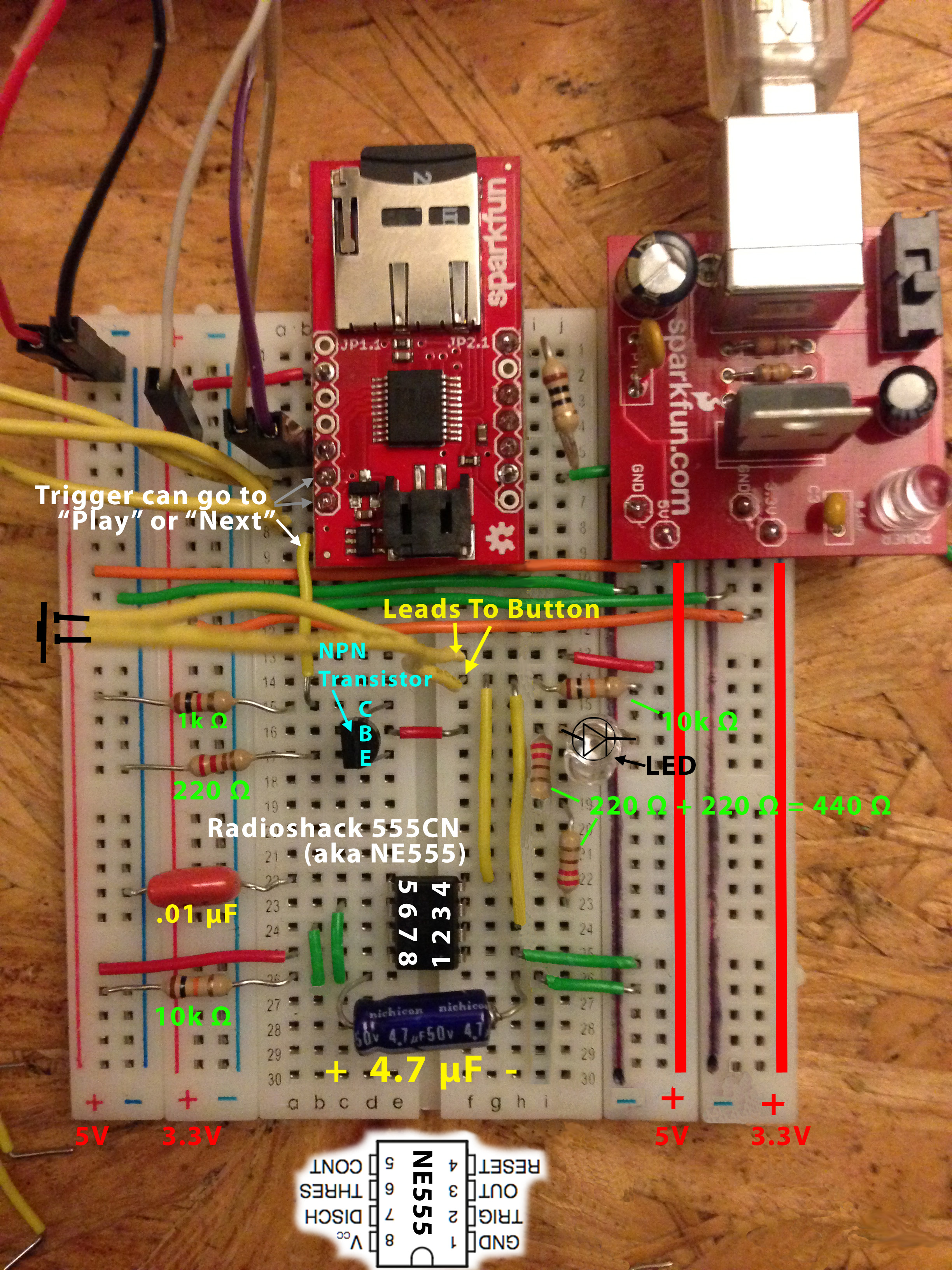 Sparkfun Audio Sound Breakout Wtv020sd Wig 11125 Circuit Diagram Of Nokia C2 01 Electronics